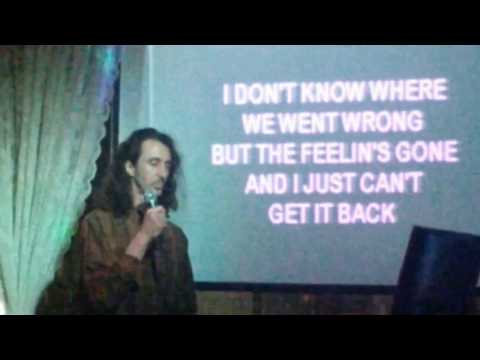 Karaoke at the Shanghai - Daniel sings Neil Diamond