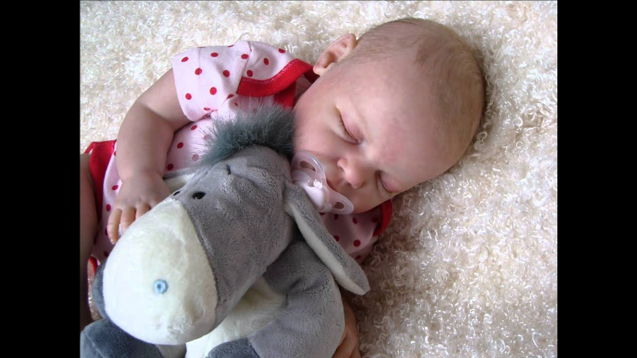 Reborn Fake Baby Girl Doll Hannah Noah Schick Sold