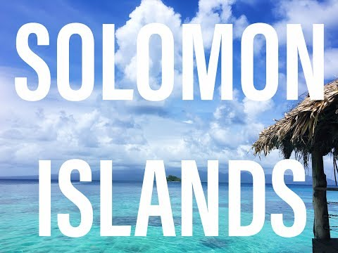Solomon Islands Dive Trip {February 2016}