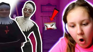 Found Evil Nun Sisters Secret PINK Room!! (Update Ending)