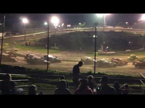358 Modified flips at Grandview Speedway August 4, 2018!