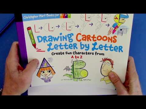 How To Draw Cartoons From Letters Step By Step For Beginners