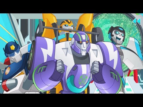Transformers Rescue Bots: Need For Speed Full Episode - Transformer Rescue Bot Storybook For Kids