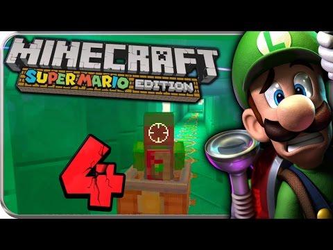 Let's Play MINECRAFT: SUPER MARIO EDITION Part 4: Lustige Lorenfahrten mit Schreckweg-Luigi!
