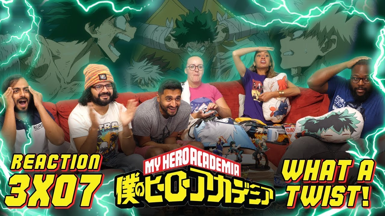 Download My Hero Academia - 3x7 What a Twist! - Group Reaction