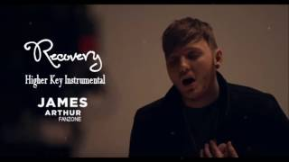 James Arthur-Recovery Higher Key Instrumental