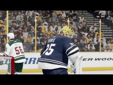 NHL® 17 Beta Minnesota Wild @ Nashville Predators