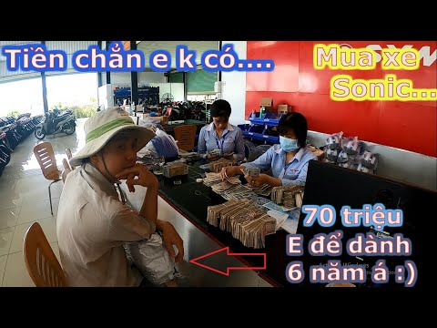 Phong Hutech  Cầm 70 Triệu Tiền Lẻ Đi Mua Xe Sonic 150 Và Cái Kết Đừng Bao Giờ Coi Thường Người Khác