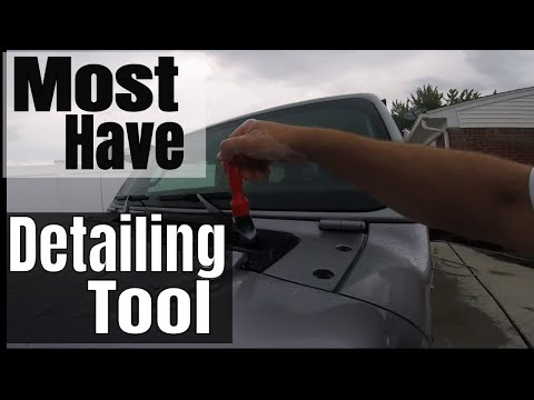 Essential Detailing Tool For Washing a Jeep Wrangler or Any Vehicle .