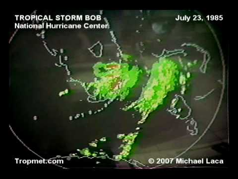 Tropical Storm BOB (National Hurricane Center) July 23, 1985