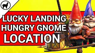 Lucky Landing Hungry Gnome Location | Fortnite Battle Royale | Season 4 Week 8