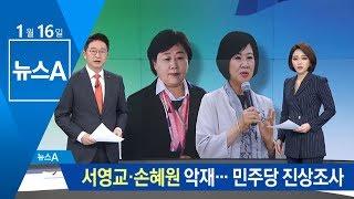 서영교·손혜원 악재에 속앓이…민주당 진상조사 나서   뉴스A