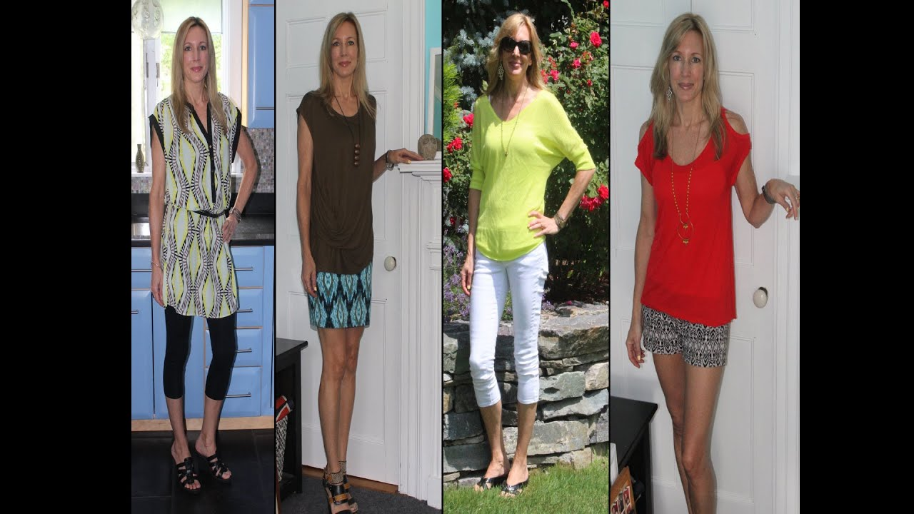 Summer Style Ideas for Women Over 50 ~ Lookbook 2013 - YouTube