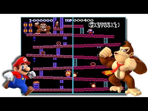 Donkey Kong Redux - Enhanced Graphics Rom Hack
