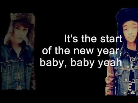 Justin Bieber ft. Jaden Smith - Happy New Year (2012) Lyric Video