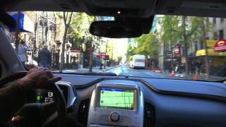 Chevy Volt Unplugged..... My test drive in NYC