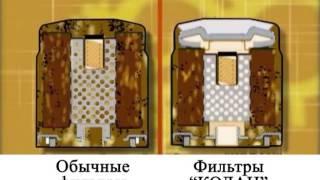 Фильтры КОЛАН очищают масло 100%