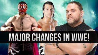 WWE Major Changes/Releases in the Company!?!?!
