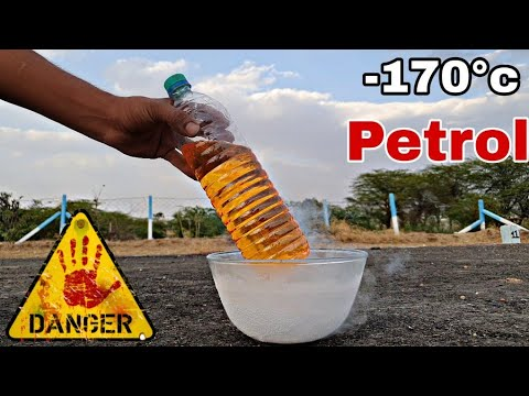 Can We Freeze Petrol ?