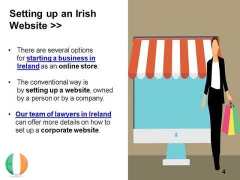 Open an Online Shop in Ireland