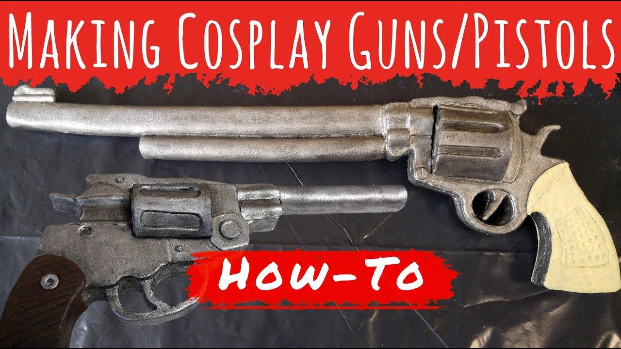 How To Make Cosplay Guns And Pistols Lara Croft Tomb Raider Pistol