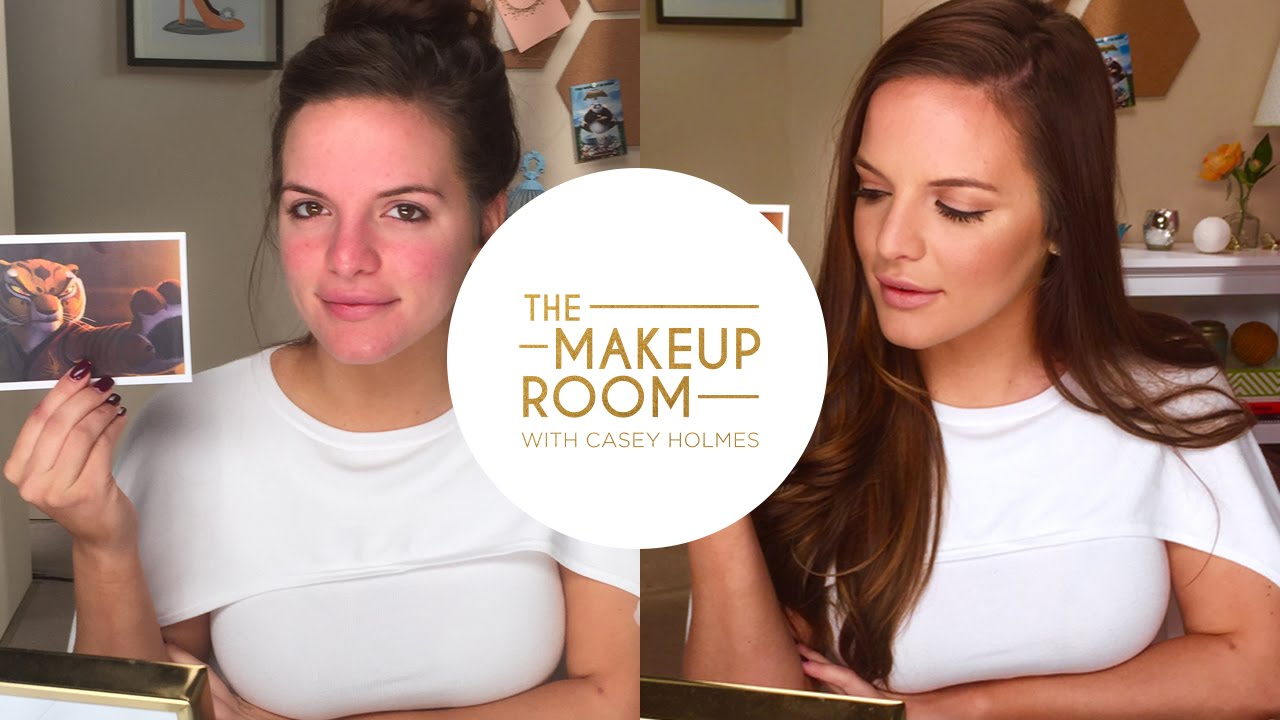 Casey Holmes Learn To Contour Inspired By Angelina  Jolie As Tigress