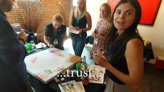 Executives Get Creative Together