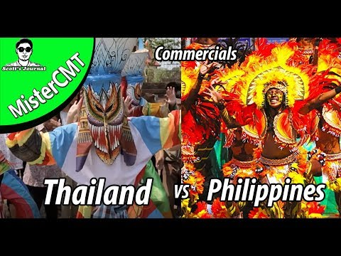 Thailand Vs Philippines Tourism Commercials