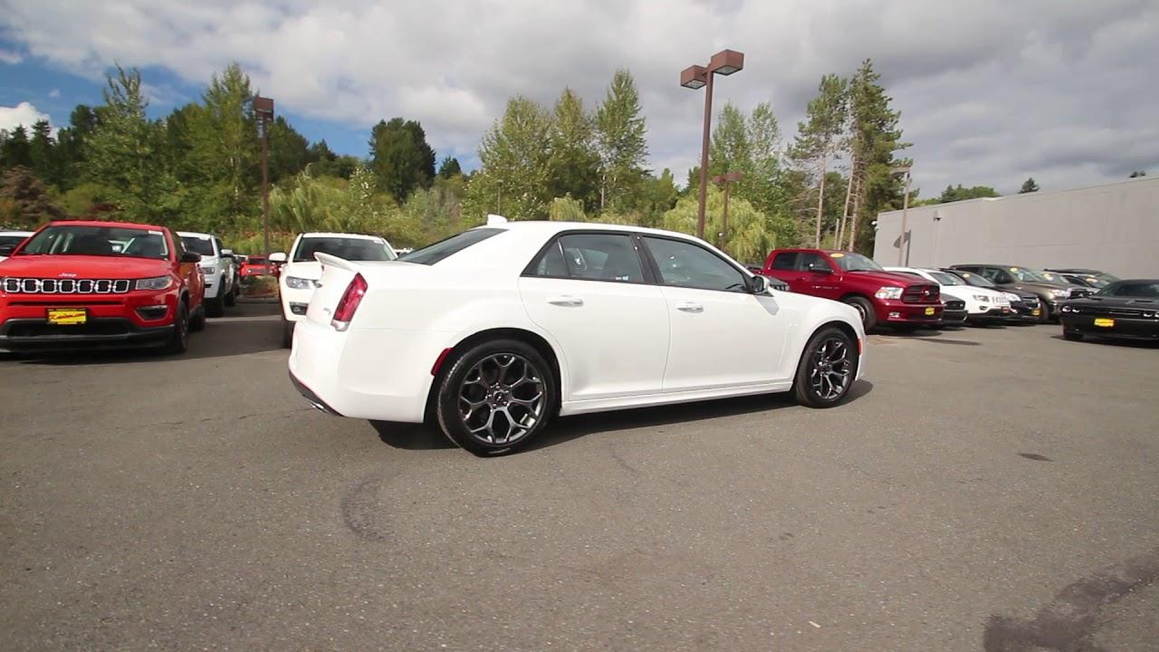 2018 Chrysler 300 S Bright White Clear Coat Jh141031 Redmond