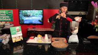 Vegan Pumpkin Cheesecake For A Nine-inch Pie Plate : Vegan Baking