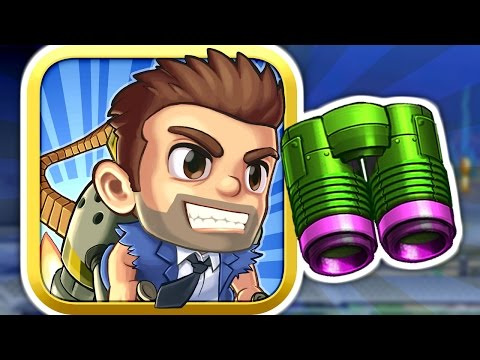 Jetpack Joyride - BUBBLE GUN JETPACK - Part 3 (iPhone Gameplay Video)