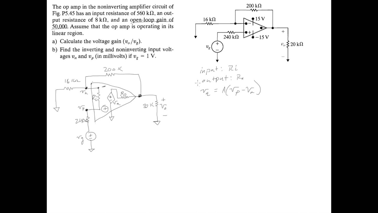 From An Oscillator Circuit Electrical Engineering Stack Exchange Inverting Opamp Gain Formula Make T Op Amp Simple Question Finding And Input Resistance