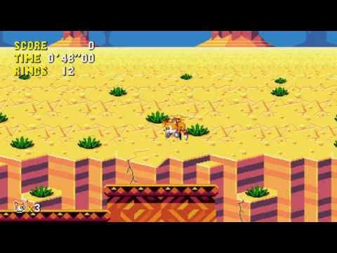 Sonic CD: Desert Dazzle (Alpha PC Port)