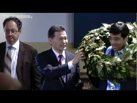World Chess Championship 2012: Closing Ceremony