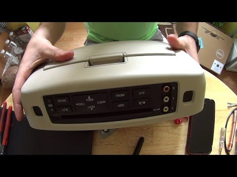 Ford Expedition using factory headphones with aftermarket radio