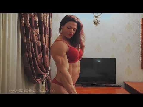 Beautiful female bodybuilder