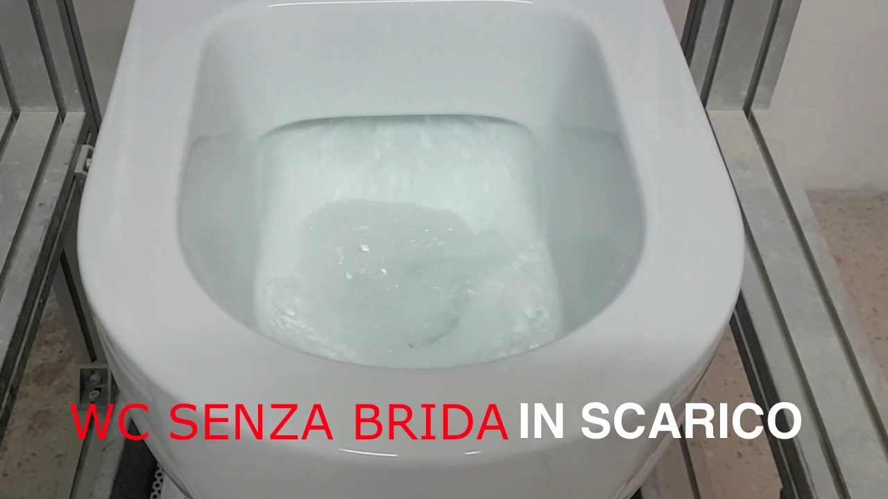 WC Senza Brida - Rimless - YouTube