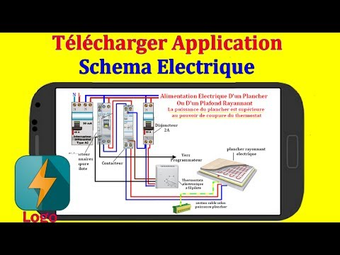 Application Gratuit Schema Electrique Branchement Cablage