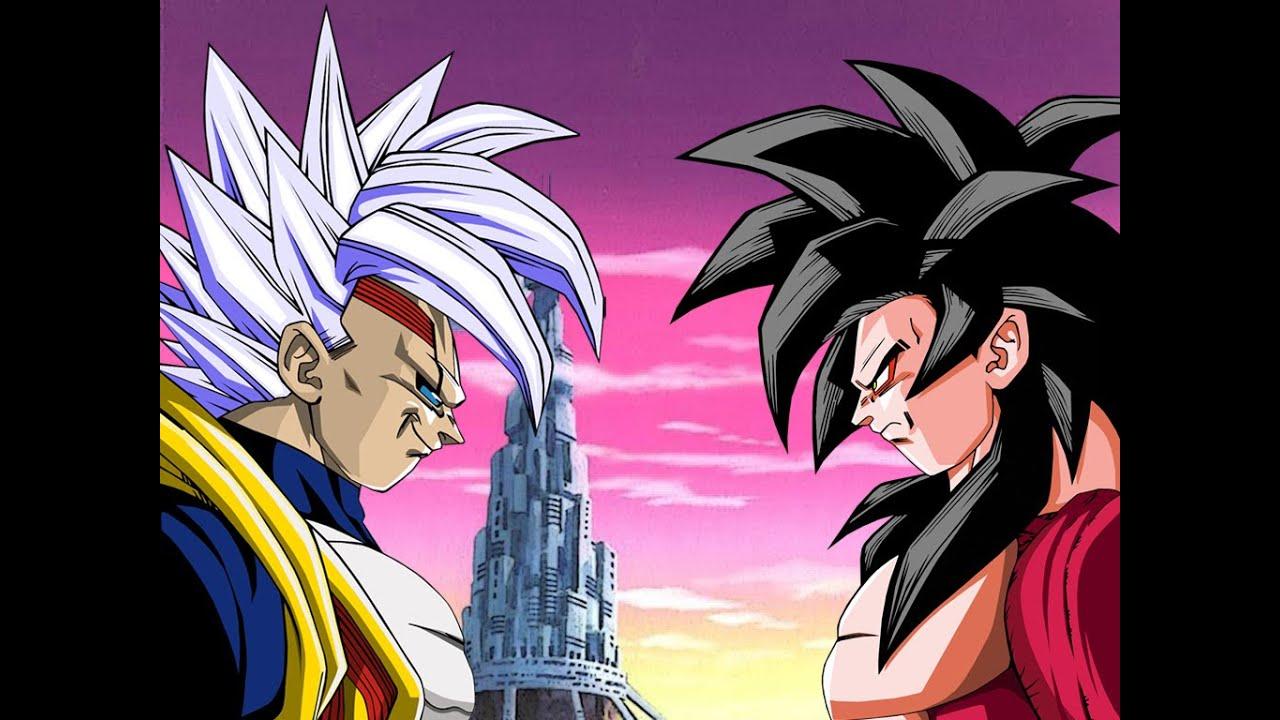 Dragon Ball Z Budokai Tenkaichi 3 - Goku Super Saiyan 4 vs ...