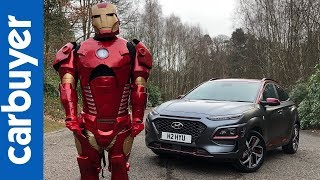 Hyundai Kona Iron Man SUV 2019 in-depth review - Carbuyer