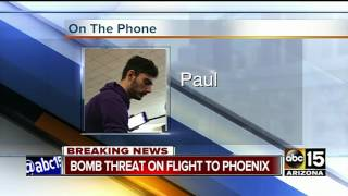 MORE: Video of threat at Sky Harbor captured by passenger