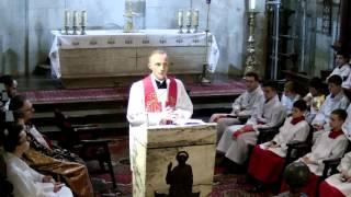 Misje parafialne - Limanowa 2016 - Niedziela, kazanie pasyjne