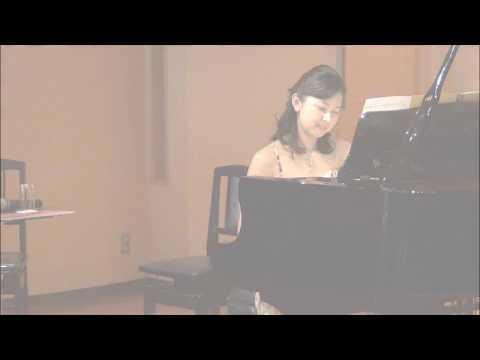 樹原涼子 Ryoko Kihara《巡る―親愛なる宮谷理香に捧ぐ》初演  ピアノ:宮谷理香