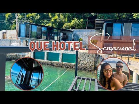 Tour Marine Hotel + Piscina + Deck + Praia Particular + Suíte Superior.