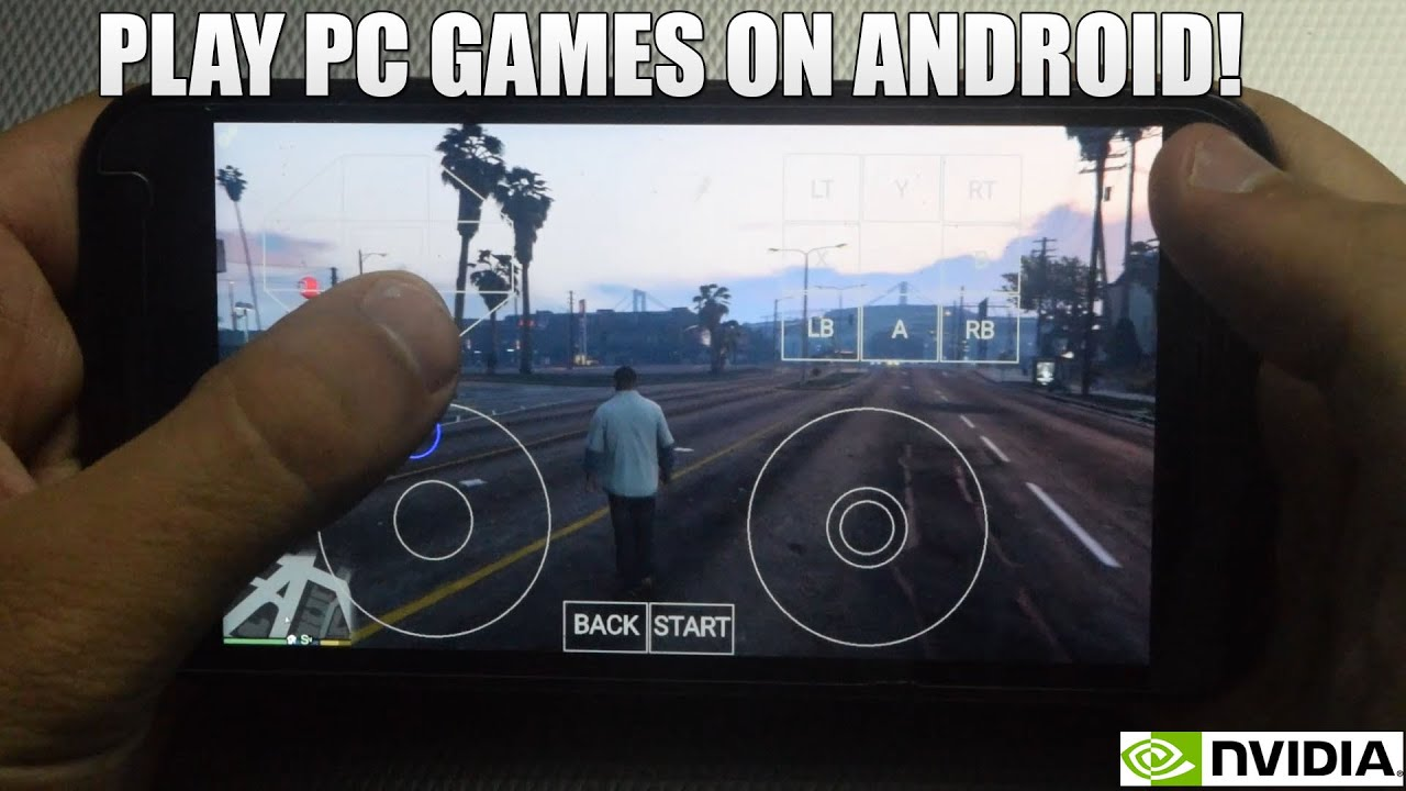 How To Play Pc Games On Android  Play Gta  Far Cry  Etc Moonlight Game Streaming Youtube
