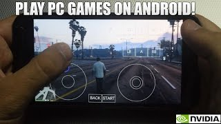 How To Play PC Games on Android 2016! Play GTA 5/Fallout 4/Far Cry 3  etc (Moonlight Game Streaming)