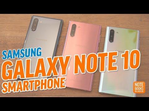 Video: Samsung Galaxy Note 10 / Note 10 Plus Hands On Test - Deutsch / German