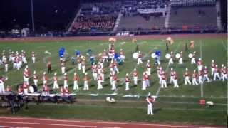 Pennsbury High School Marching Band Performing At 10/27/12 Neshaminy HS Kaleidoscope Of Bands