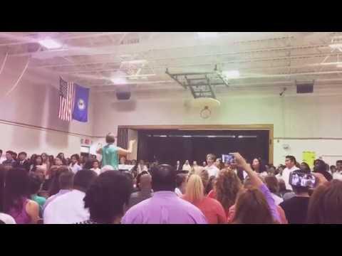 6th grade graduation at kings glen elementary school ????