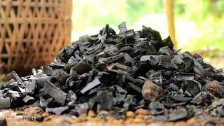 Primitive Skills: Reusable charcoal mound